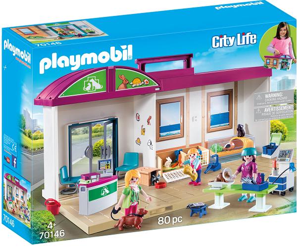 Mobil dyrelægeklinik - PL70146 - PLAYMOBIL City Life