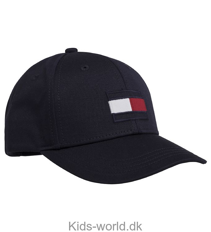 Tommy Hilfiger Kasket - Big Flag - Navy