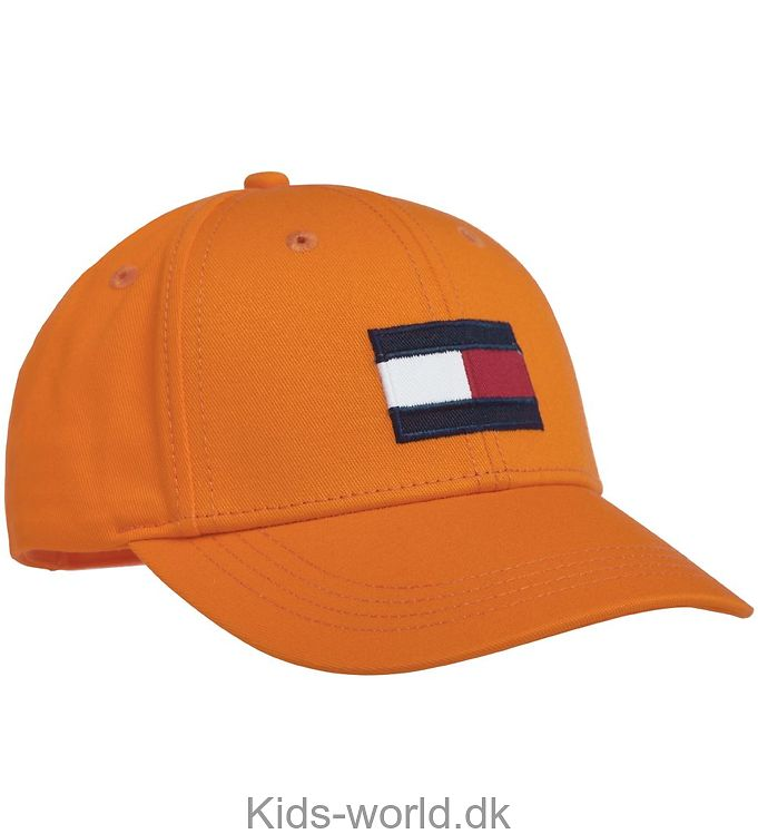Tommy Hilfiger Kasket - Big Flag - Orange