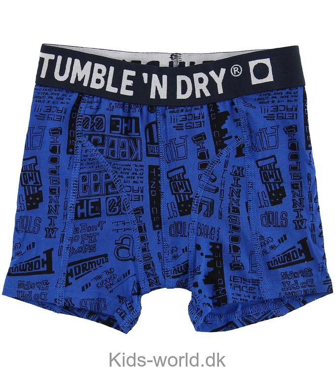 Tumble N Dry Boxershorts - Acido - Blå m. Print