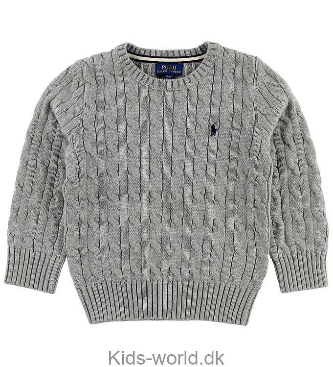 Polo Ralph Lauren Sweater - Gråmeleret