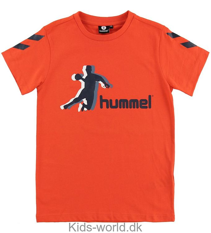 Hummel T-shirt - Kevyn - Rød