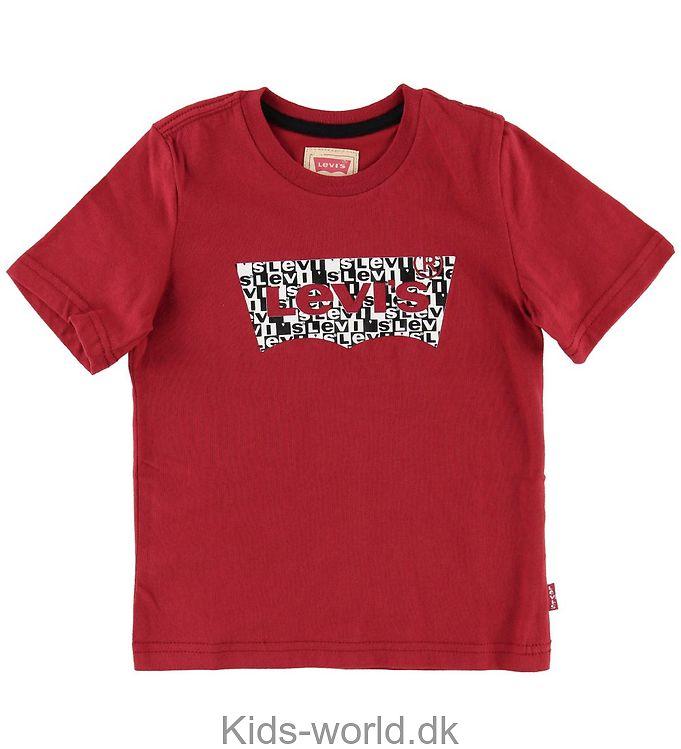 Levis T-shirt - Rød m. Logo
