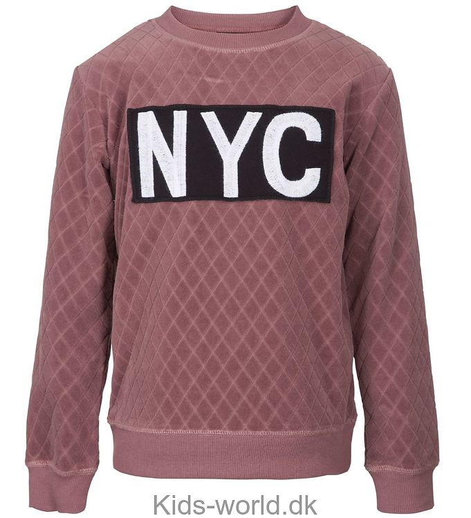 Petit by Sofie Schnoor Bluse - Quilted - Mørk Rosa m. NYC