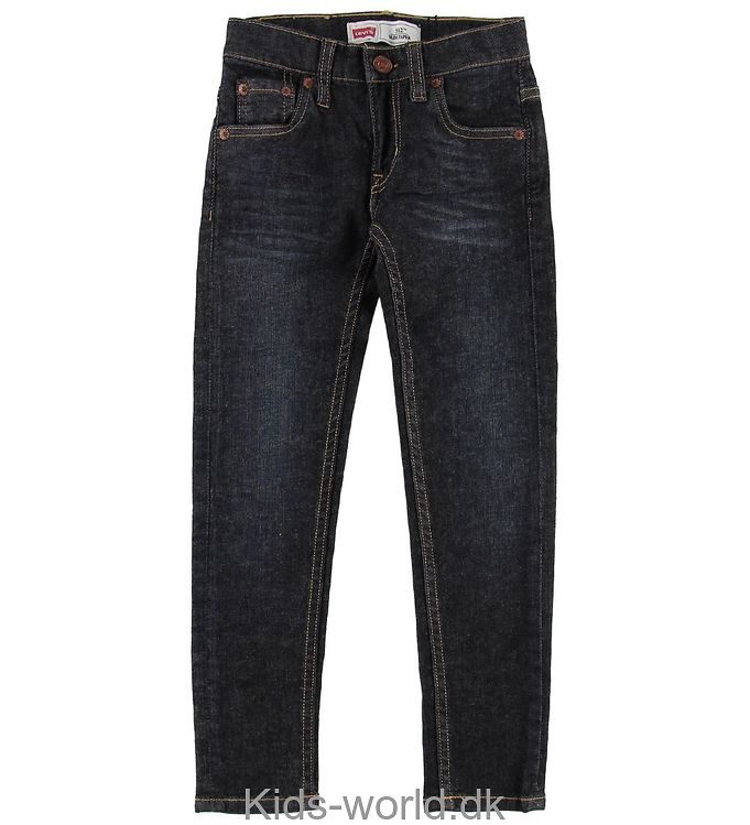 Levis Jeans - 512 - Mørk Blå Denim