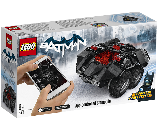 App-Controlled Batmobile - 76112 - LEGO Super Heroes