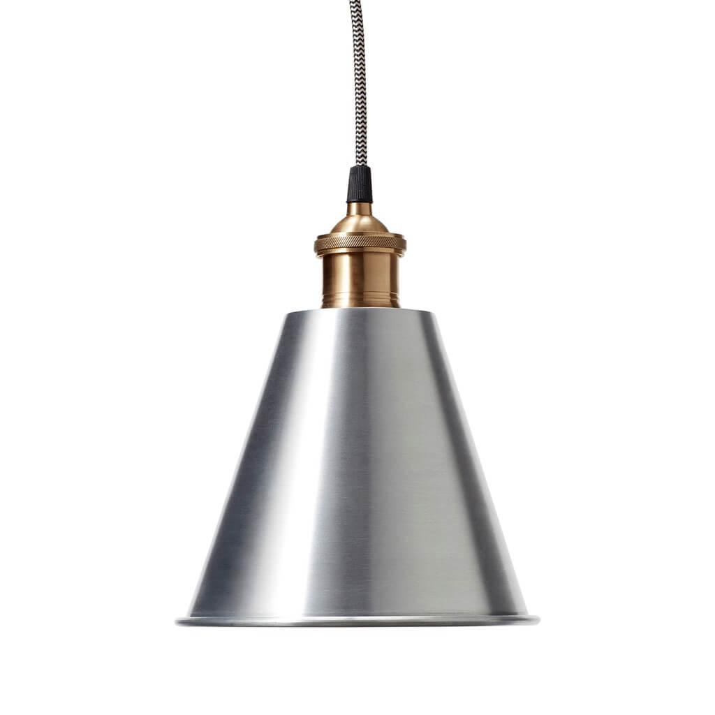 Pendel lampe metal messing Hübsch