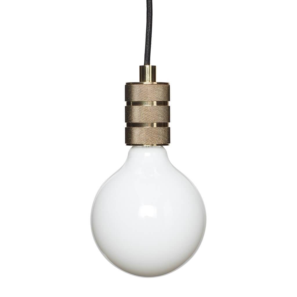 Lampe messing Hübsch
