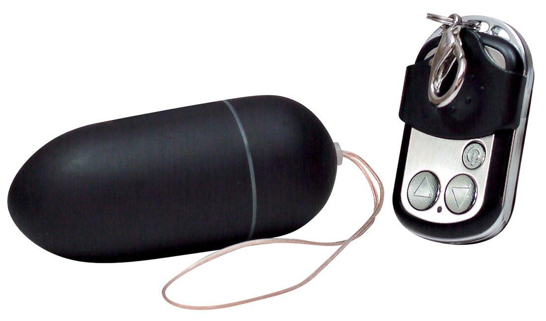 You2Toys - Black & Silky trådløst vibroæg m. fjernbetjening