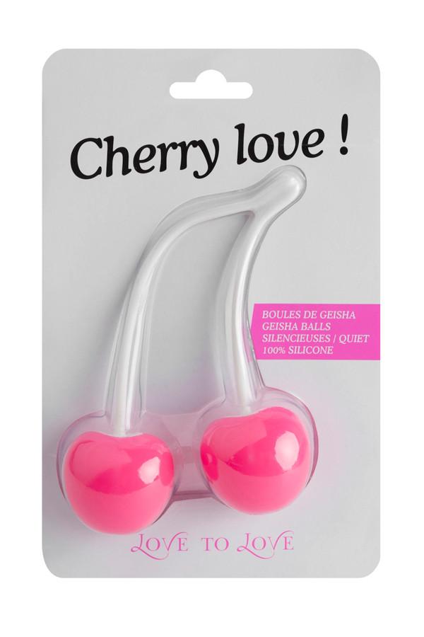 Love to Love - Cherry Love duoballs elskovskugler formet som kirsebær