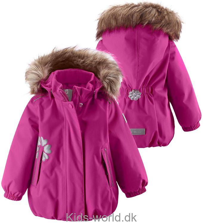 Reima Tec Vinterjakke - Snowing - Pink
