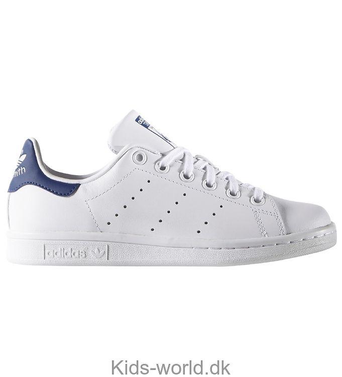 adidas Originals Sko - Stan Smith - Hvid m. Blå