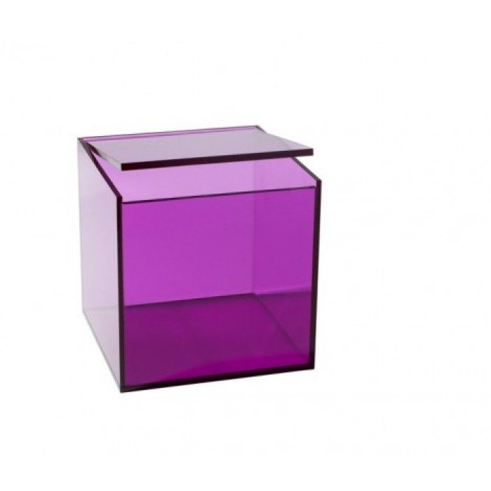 Opbevaringsboks (lilla/stor)