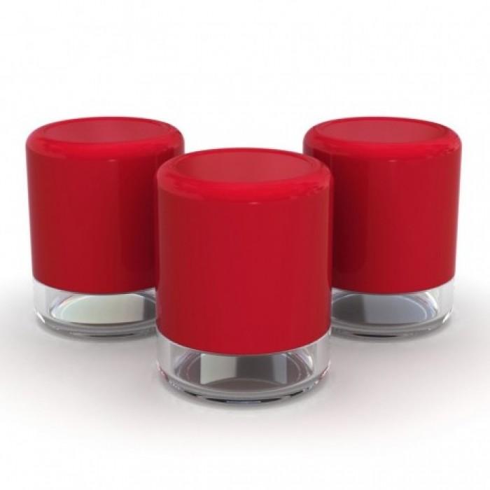 View opbevaring sæt (rød)