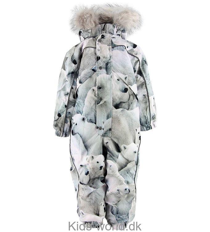 Molo Flyverdragt - Polaris Fur - Polar Bear