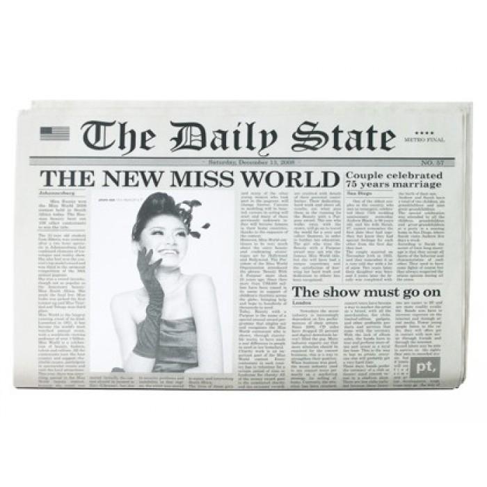 Dækkeservietter (avis)