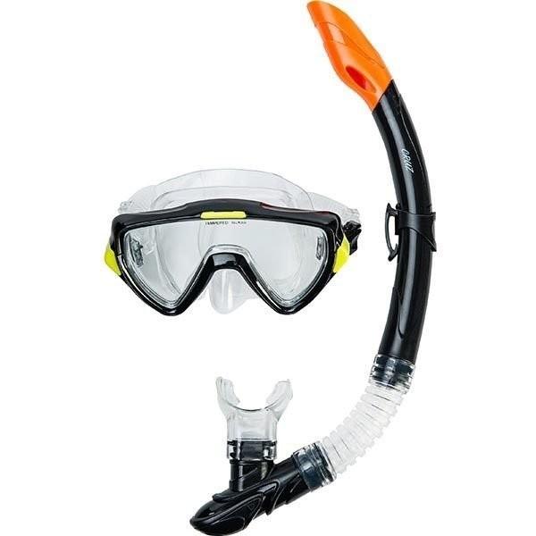 Cruz West Bay Dykkerbrille + Snorkel - Voksen