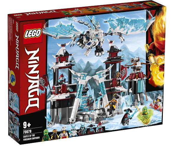 Den forladte kejsers borg - 70678 - LEGO Ninjago