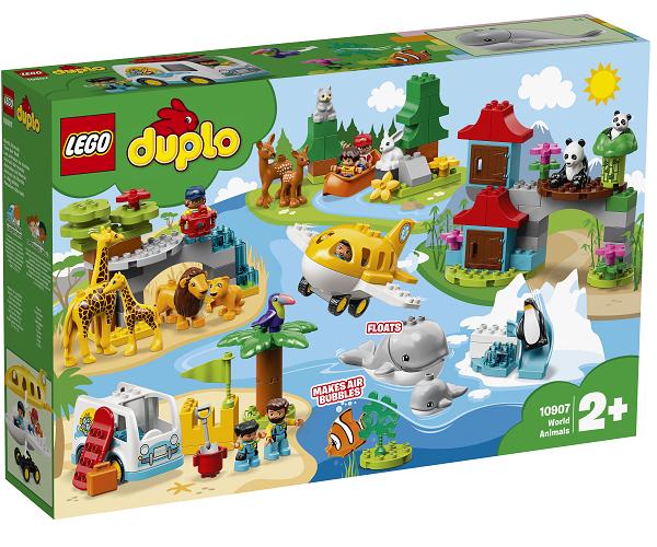 Verdens dyr - 10907 - LEGO DUPLO