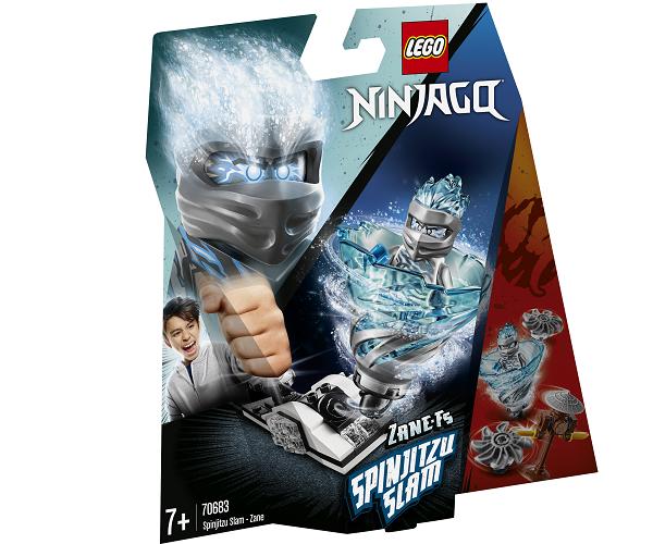 Spinjitzu-brag – Zane - 70683 - LEGO Ninjago