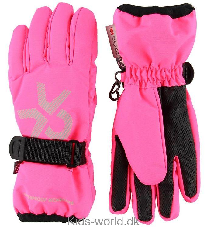 Color Kids Handsker - Savoy - Pink