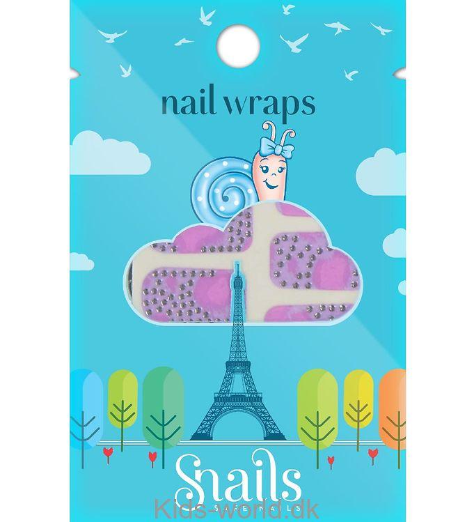 Snails Wrap - Pink Zebra