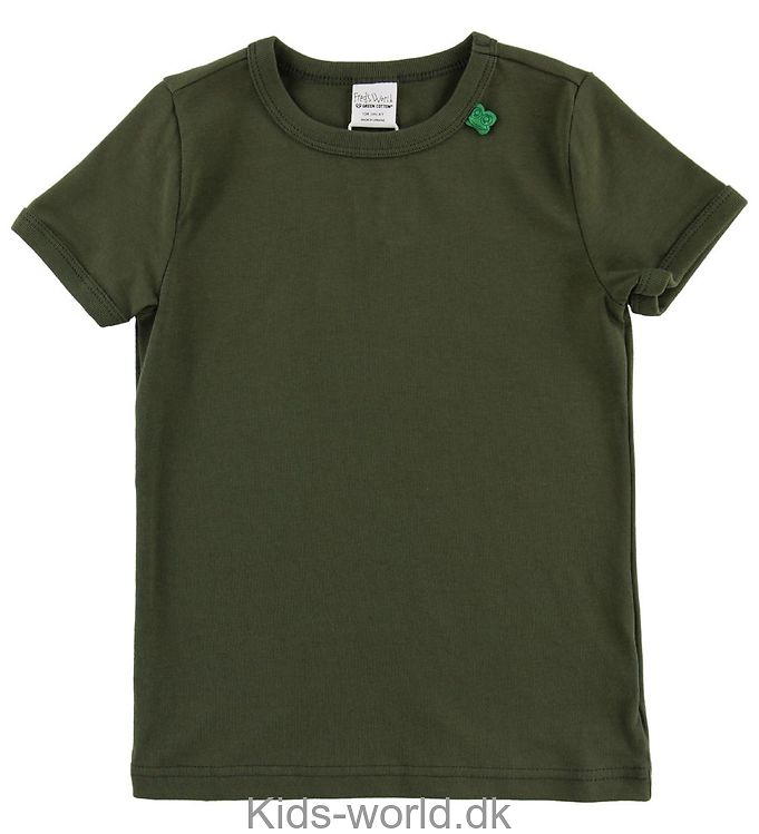 Freds World T-shirt - Armygrøn
