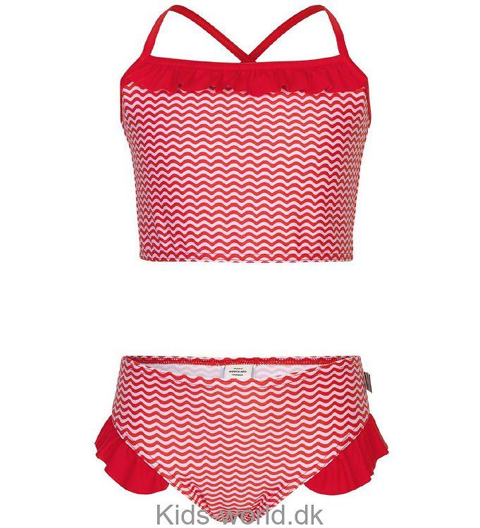 Mads Nørgaard Bikini - Vita - Rød/Lyserød