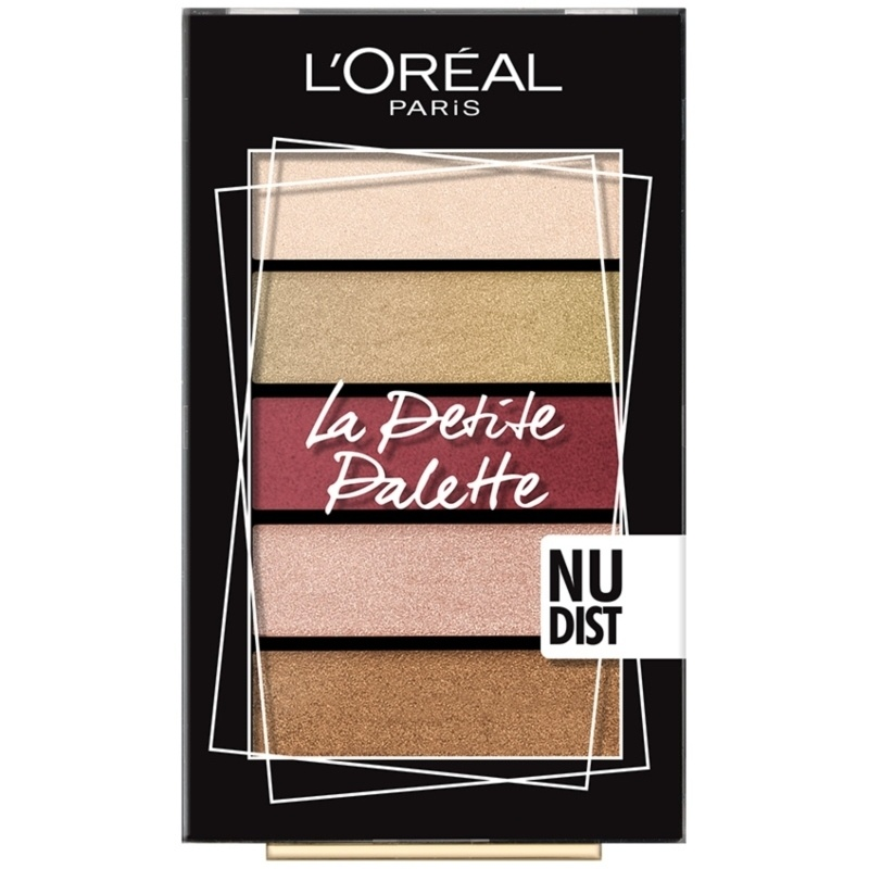 L'Oréal Paris Cosmetics La Petite Palette 5 x 0,8 gr. - Nudist