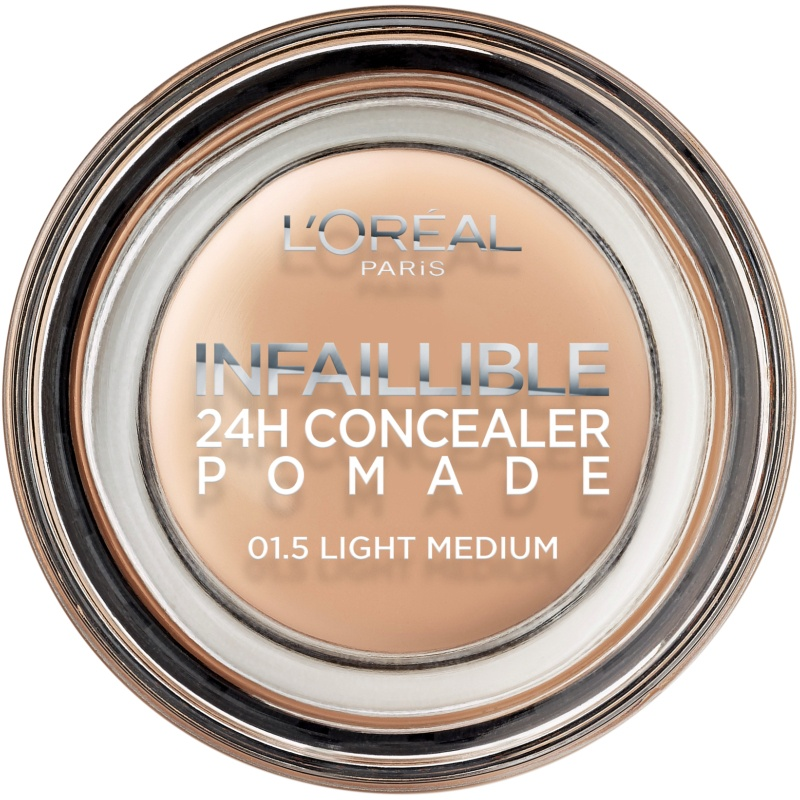L'Oréal Paris Cosmetics Infaillible 24H Concealer Pomade - 01.5 Light Medium