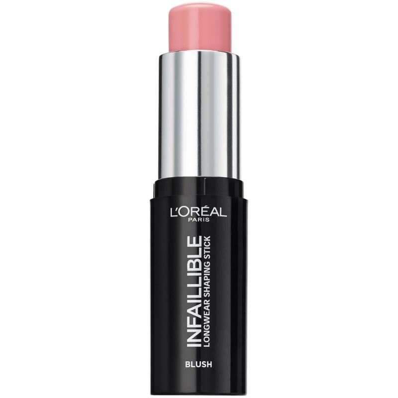 L'Oréal Paris Cosmetics Infaillible Blush Stick 9 gr. - 001 Sexy Flush