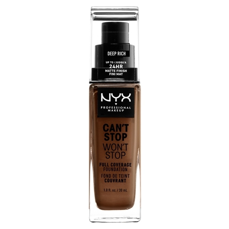 NYX Prof. Makeup Can't Stop Won't Stop Foundation 30 ml - Deep Rich