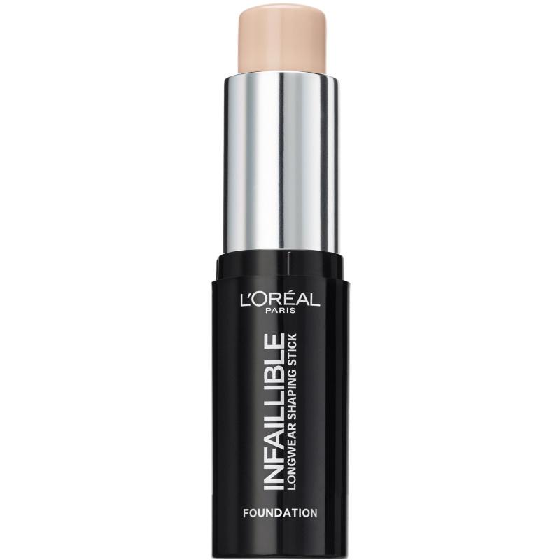 L'Oréal Paris Cosmetics Infaillible Foundation Stick 9 gr. - 140 Natural Rose