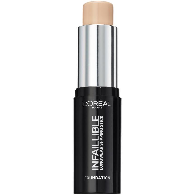 L'Oréal Paris Cosmetics Infaillible Foundation Stick 9 gr. - 160 Sand