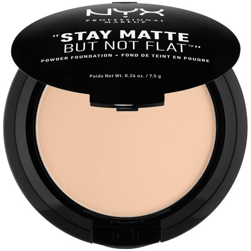 NYX Prof. Makeup Stay Matte But Not Flat Powder Foundation 7,5 gr. - Nude Beige