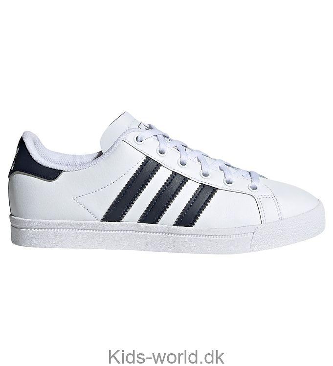 adidas Originals Sko - Coast Star - Hvid m. Navy