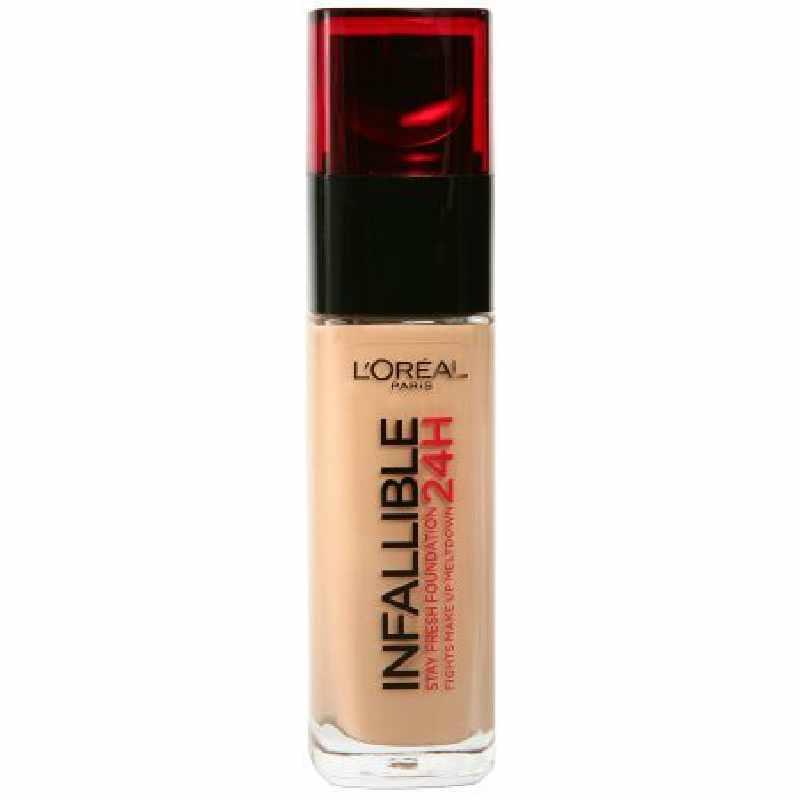 L'Oreal Paris Cosmetics Infallible 24H Stay Fresh Foundation 30 ml - 230 Radiant Honey (U)