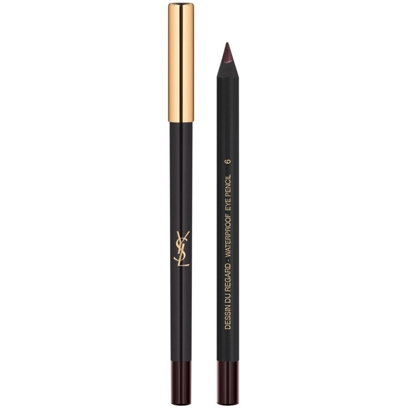 YSL Dessin Du Regard Waterproof Eye Pencil 1,3 gr. - 6 Bourgogne Osé (U)