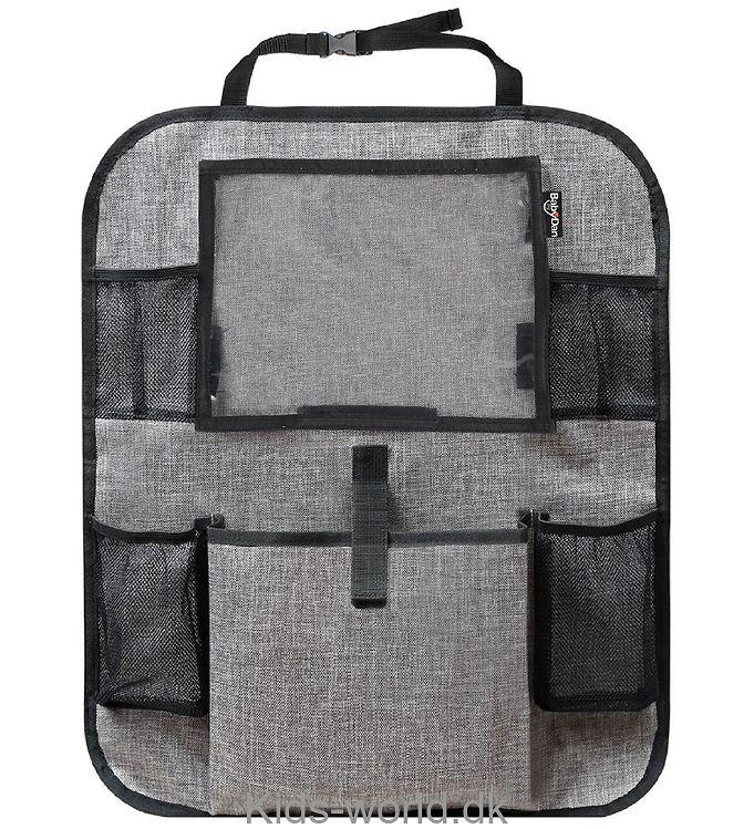 BabyDan Opbevaringslomme - Tablet Backseat Organizer - Grå