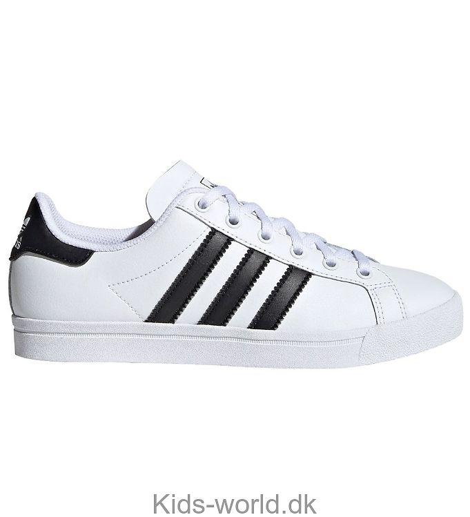 adidas Originals Sko - Coast Star - Hvid m. Sort