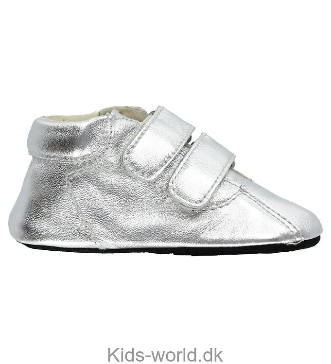 Fuzzies Skindfutter m. Dobbelt Velcro - Nicki - Sølv