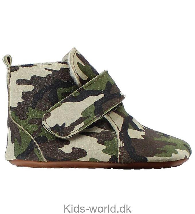 Pom Pom Skindfutter m. For - Camouflage