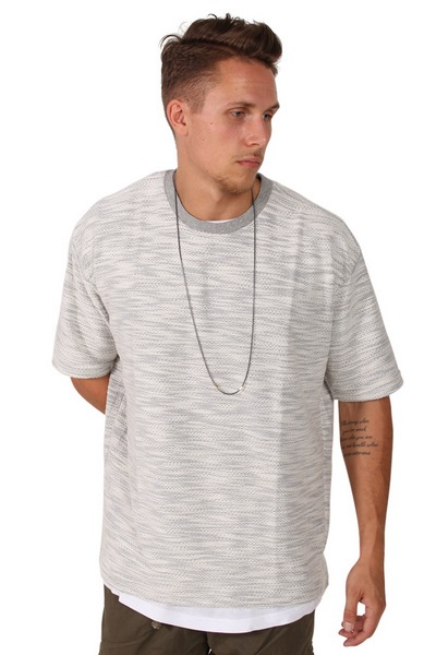 Sixth June M1880CTS T-shirt Light Grey