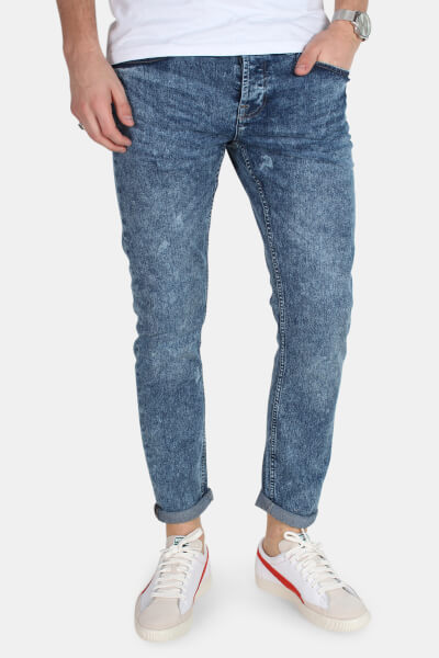 Only & Sons Loom Camp 327 Jeans Medium Blue Denim