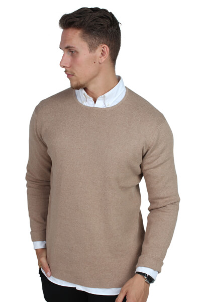 Legends Cofu Pullover Strik Sand