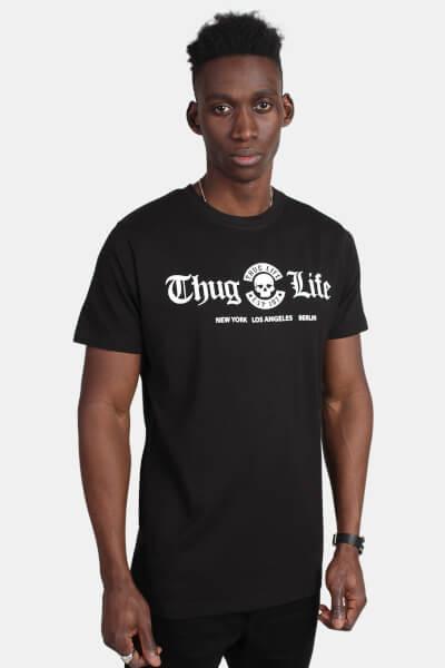 Mister Tee MT384 Thug Life Cities Tee Black