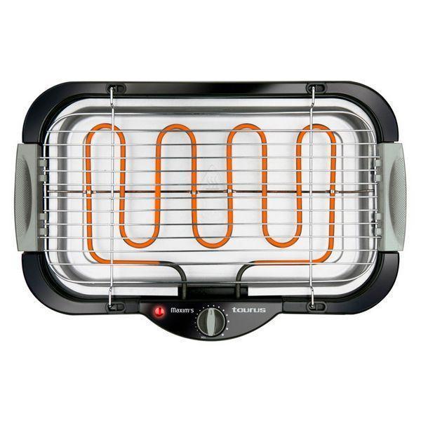 Elektrisk Grill Taurus Maxims 2000W Sort