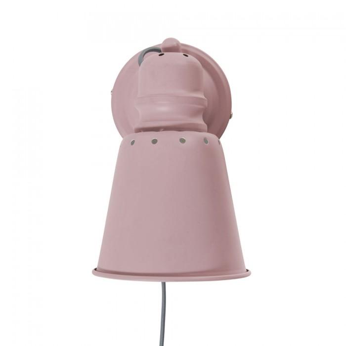 Sebra væglampe (rosa)