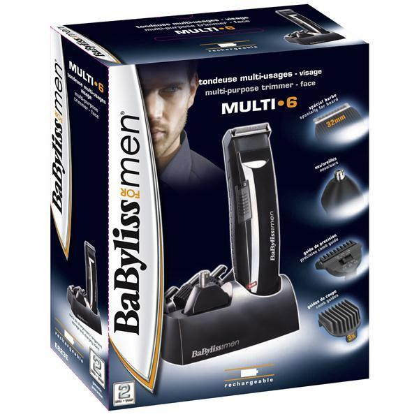 Barbermaskine Multi 6 E823e Babyliss Sort
