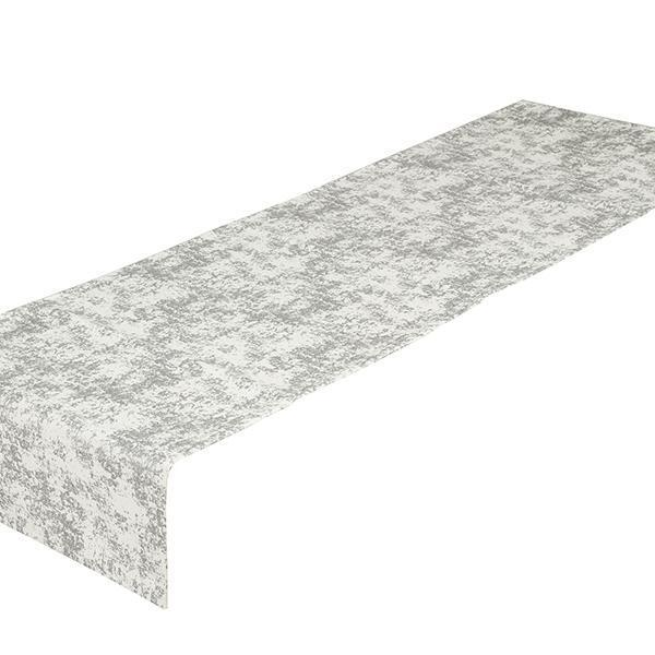 Table Runner Sølv (40 x 13 x 0,05 cm) by Loom In Bloom